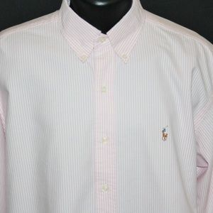 NEW Ralph Lauren Polo Cotton Classic Fit Oxford L